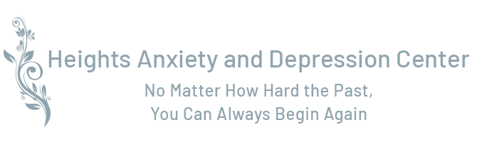 logo Heights Anxiety & Depression Center | No Matter How Hard the Past, You can Always Begin Again